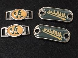 Paire de Oakland Athletics Paracord Shoelace MLB Charms
