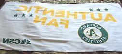 2015 Oakland A's Athletics Beach Towel - SGA - Comcast AFF