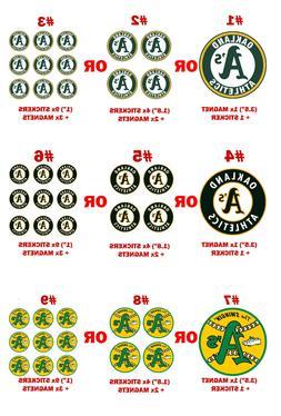 A's Oakland Athletics decal magnet + sticker pc car fridge m