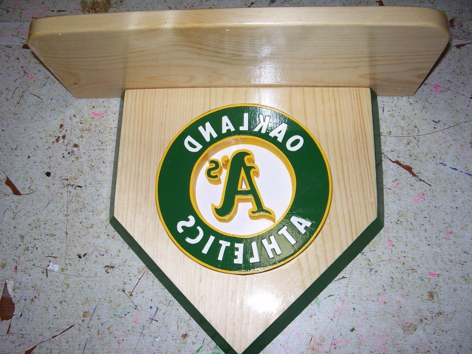 bobble heads oakland a s home plate