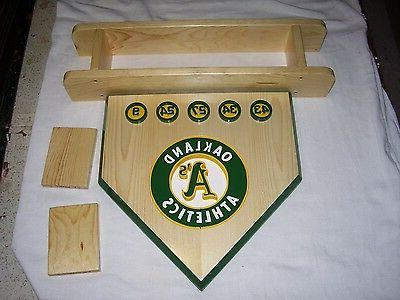 Bobble Heads Oakland home shelf with Retired