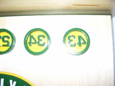 Bobble Heads Oakland home plate shelf Retired numbers