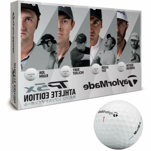 TAYLOR MADE Golf ball TP5 X 12 entrance 2018 model ATHLETE E