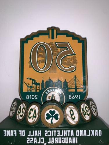 Oakland Athletics A's 2004 REGGIE JACKSON HOF BOBBLEHEAD SGA