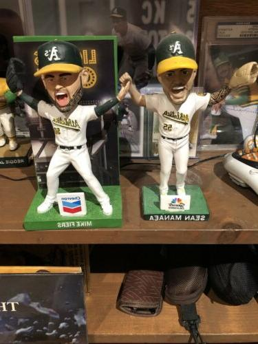 oakland athletics as bobbleheads 2 no hitters