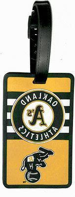 Oakland Athletics - MLB Soft Luggage Bag Tag