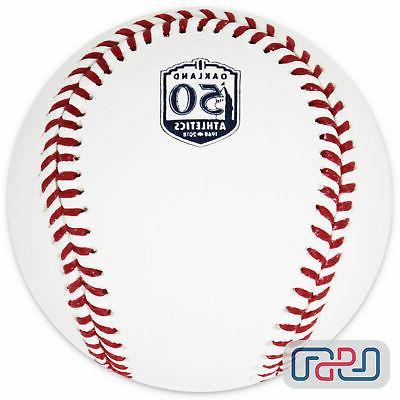 Athletics 50th MLB Baseball Boxed