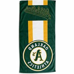 Northwest MLB Beach Towel ZONE Oakland Athletics 76x152cm