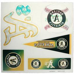 MLB Oakland Athletics 3D Multi-Sheet Magnets