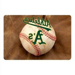 MLB Oakland Athletics Baseball Pet Mat