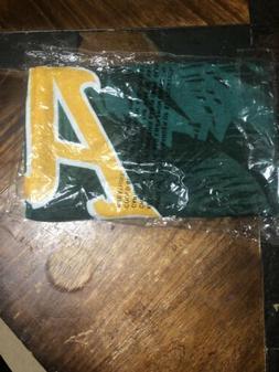 mlb oakland athletics beach towel new giveaway