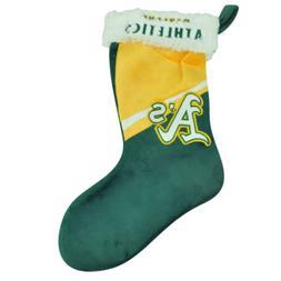 MLB Oakland Athletics Christmas Holiday Hanging Stocking Soc