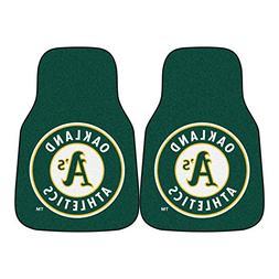 FANMATS MLB Oakland Athletics Nylon Face Carpet Car Mat