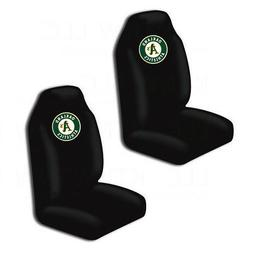 New MLB Oakland Athletics Car Truck 2 Front Seat Covers Set