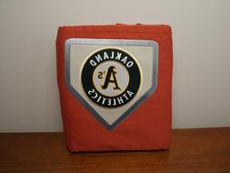 NWT Pottery Barn Oakland Athletics Duvet Cover  Metro Orange
