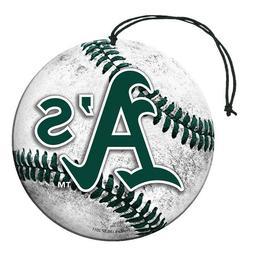 Oakland A's Athletics MLB  Air Freshener 3 Pack Set Vanilla
