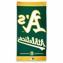 Oakland A's Athletics MLB Beach Bath Pool Towel 30 x 60 inch