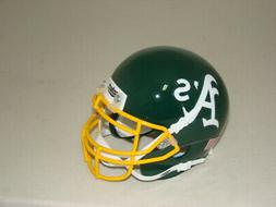 Oakland A's Athletics Schutt MLB Mini FOOTBALL Helmet