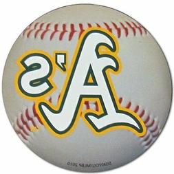 Oakland A's Baseball Magnet - 3 Inches  MLB Truck Car Sticke