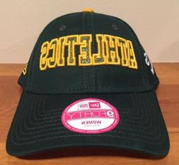 Oakland Athletics New Era 9Forty Women Flex Hat Cap Adjustab
