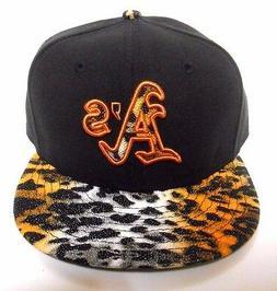 New ERA Oakland Athletics A's 9Fifty Safari Leopard Mix Adju