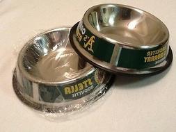 Oakland Athletics A's DOG/CAT/PET BOWL DOOLITTLE & REDDICK B