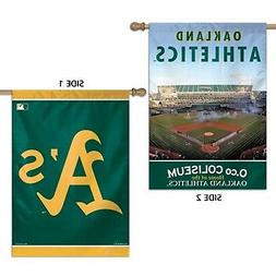 Oakland Athletics A's WC Premium 2-sided 28x40 Banner Outdoo