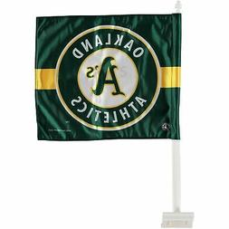 Oakland Athletics WinCraft Double-Sided Car Flag