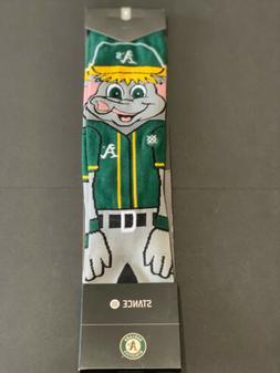 Oakland Athletics Stomper A's MLB Baseball Socks Medium M 6-