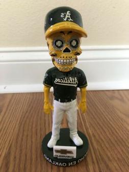 Oakland Athletics Sugar Skull Bobblehead Hecho En Oakland