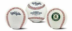 oakland athletics team logo manfred mlb baseball