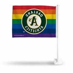 Oakland MLB Baseball A's Athletics Gay Pride 11X14 Window Mo
