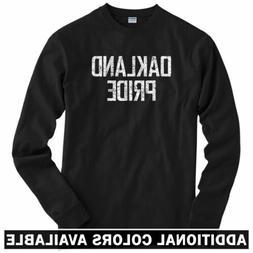 Oakland Pride Long Sleeve T-shirt - LS Men S-4X - Athletics