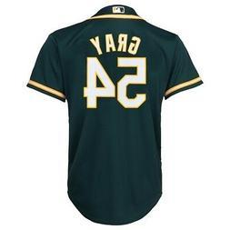 Sonny Gray MLB Majestic Oakland Athletics Alternate Cool Bas